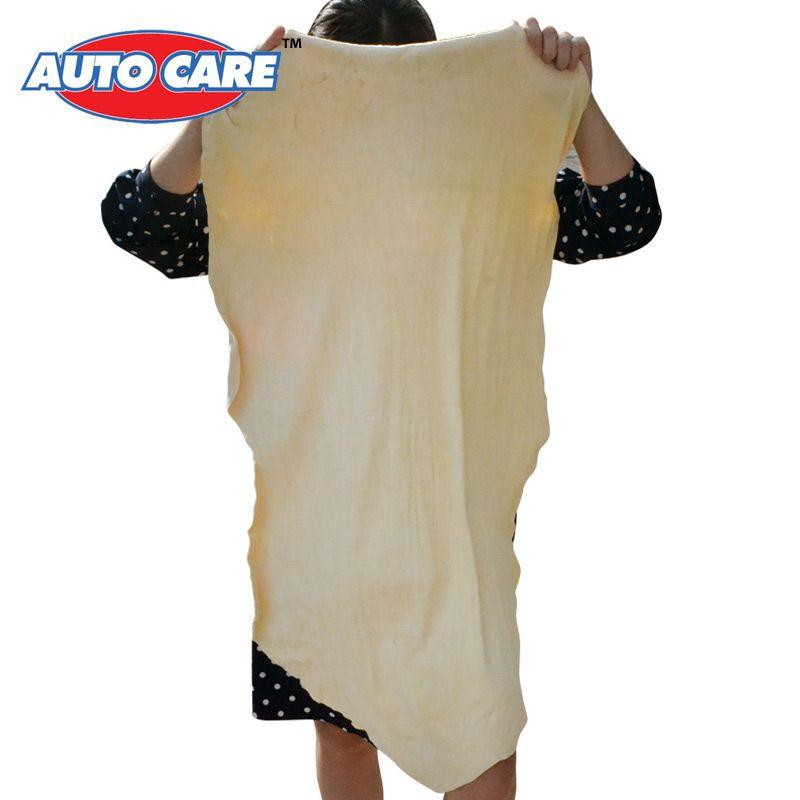 Auto Care 45x75 Cm Ok Duze Naturalne Chlonne Suszenie Recznikow Zamsz Skora Zamszowa Sciereczka Do Czyszczenia Mycia Samoc Chamois Leather Clothes Car Cleaning