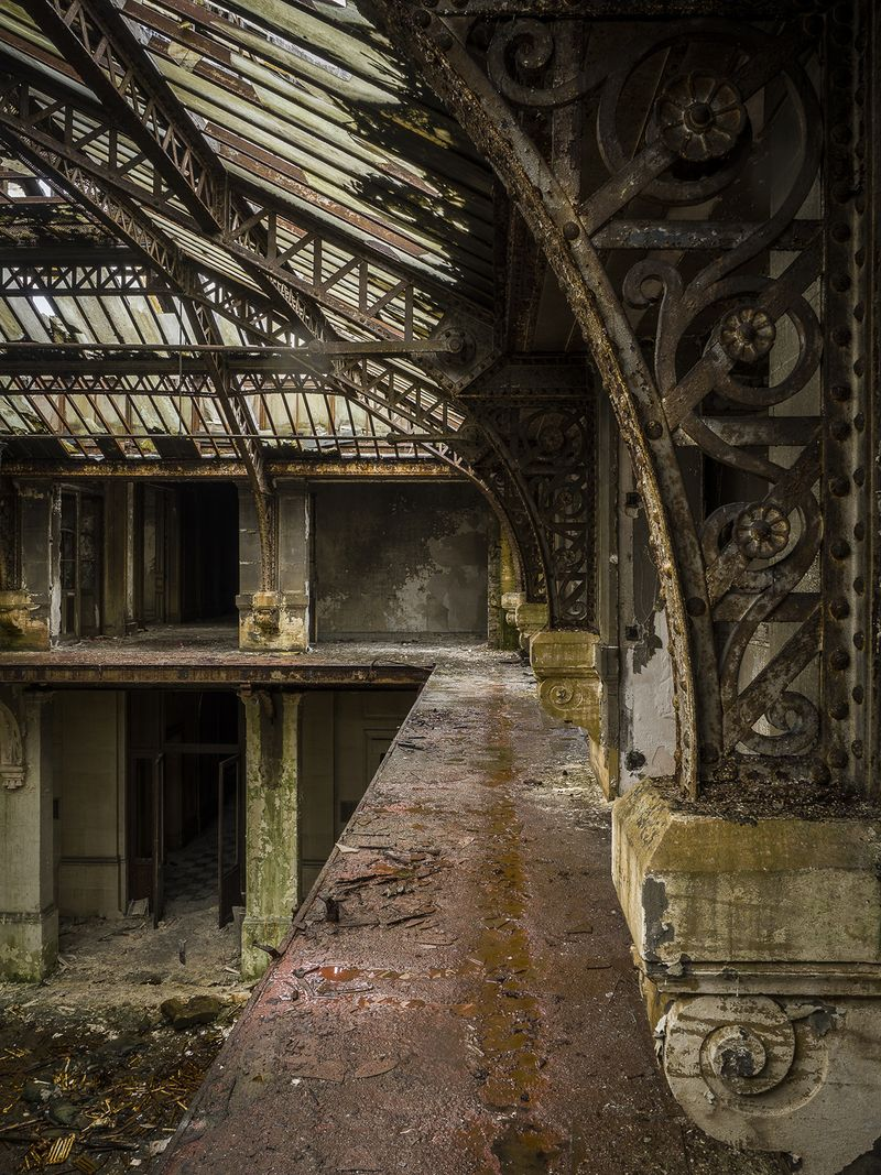 how do abandoned buildings affect the environment