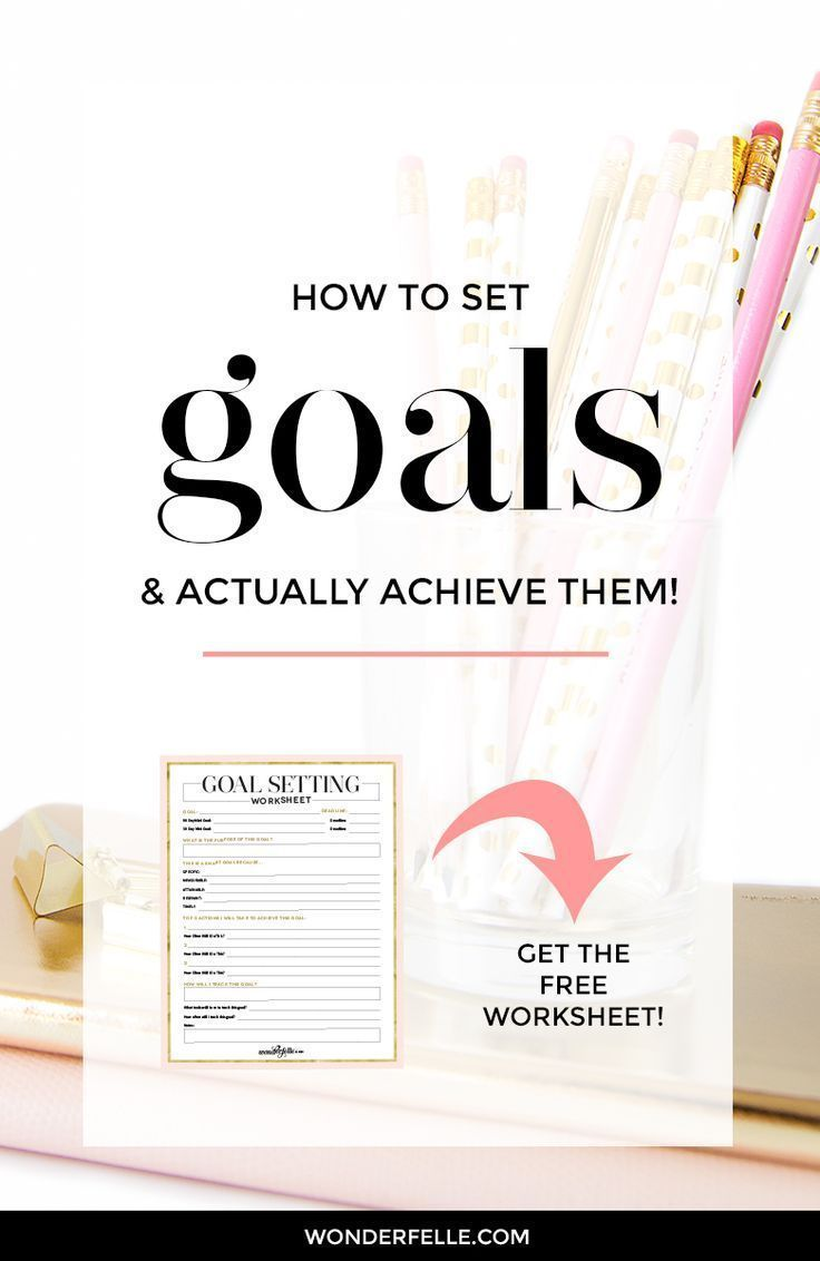 How To Set Goals (And Actually Achieve Them Setting