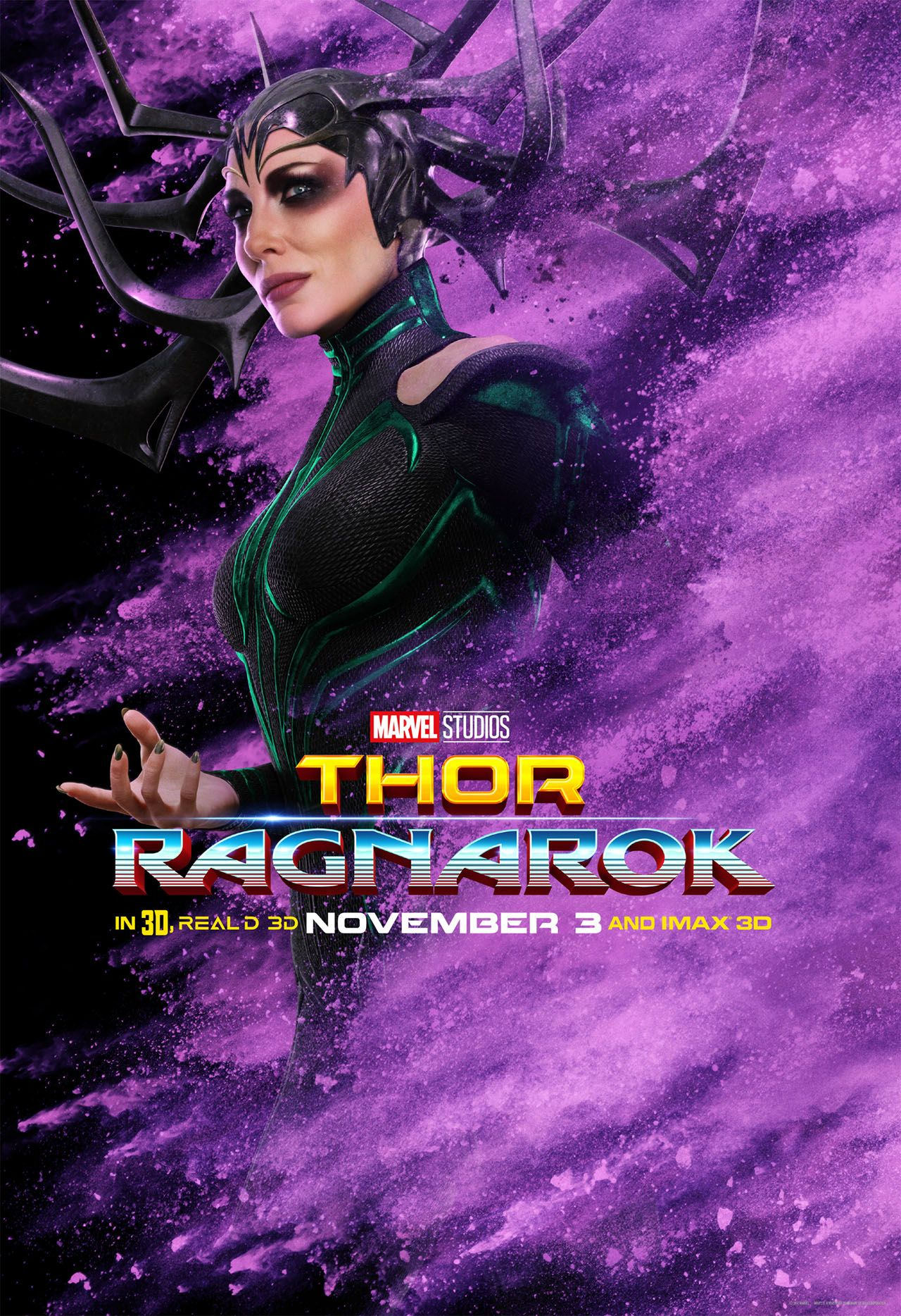 Thor Ragnarok Abunch Of Colorful Character Posters Have Hit The Web Head Over To The Link See The Rest Co Ragnarok Movie Ragnarok Characters Marvel Thor