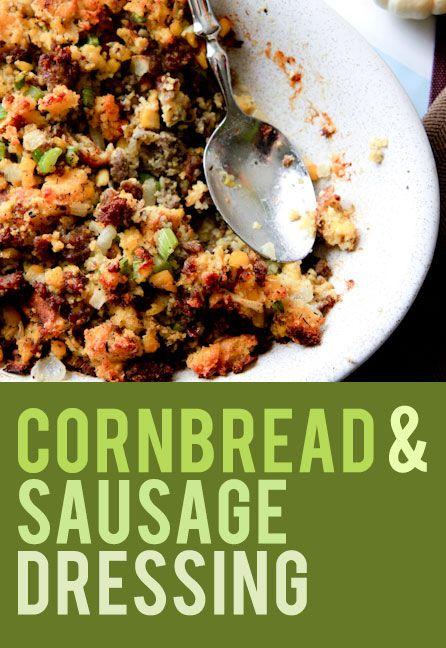 Cornbread Sausage Stuffing on Pinterest | Sausage Stuffing, Cornbread ...