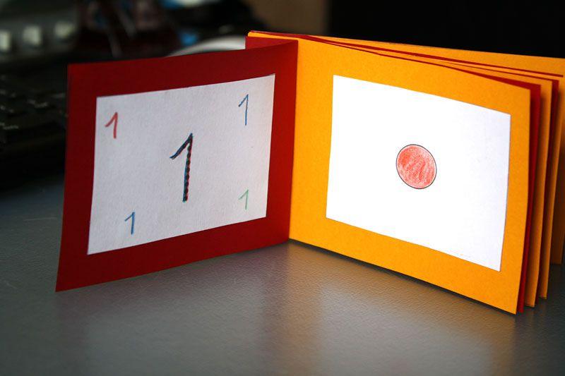 ein zahlenbuch zum ausdrucken jetzt mit fotos mathe kinder mathe mathe und montessori. Black Bedroom Furniture Sets. Home Design Ideas