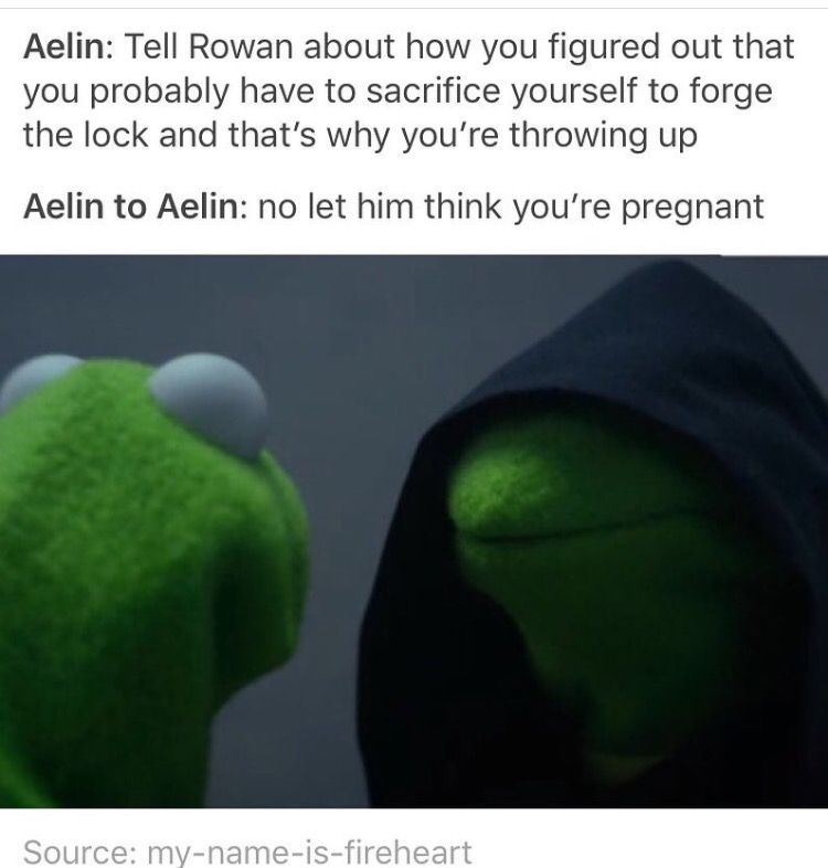 Ok but then they had a talk later about how she wasn't. Also about how if she did get pregnant then she was okay with that.