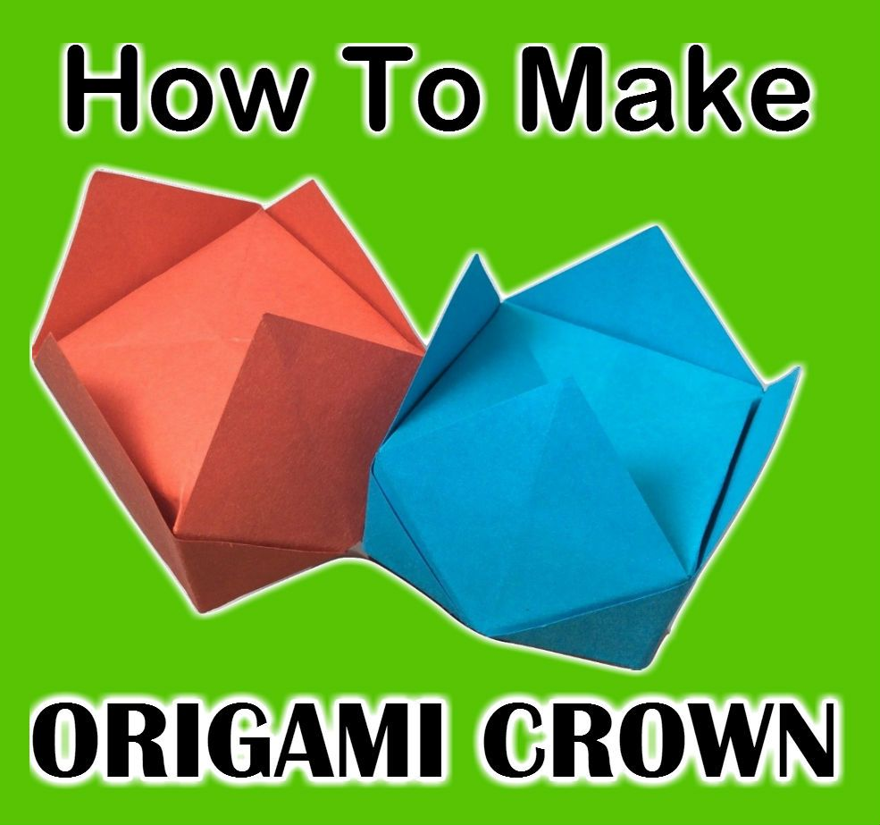 How to make origami crown origami tutorials for beginners easy how to make origami crown origami tutorials for beginners easy origami jeuxipadfo Image collections