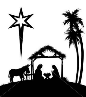 Christmas Photo Nativity Baby Jesus Christmas 2008 Silhouette Christmas Nativity Scene Silhouette Nativity Silhouette