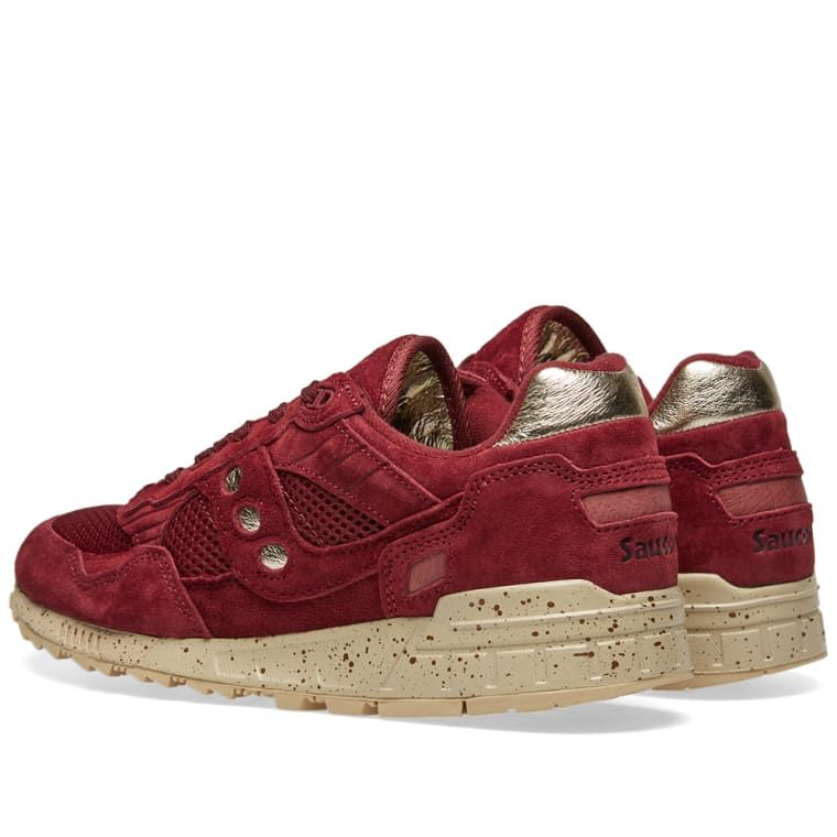 100% authentic 5d4cf 68088 Saucony Shadow 5000 Gold Rush Maroon & Gold 3 | My Trainers ...