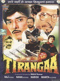 Tirangaa Hindi Movie Online Raaj Kumar Nana Patekar