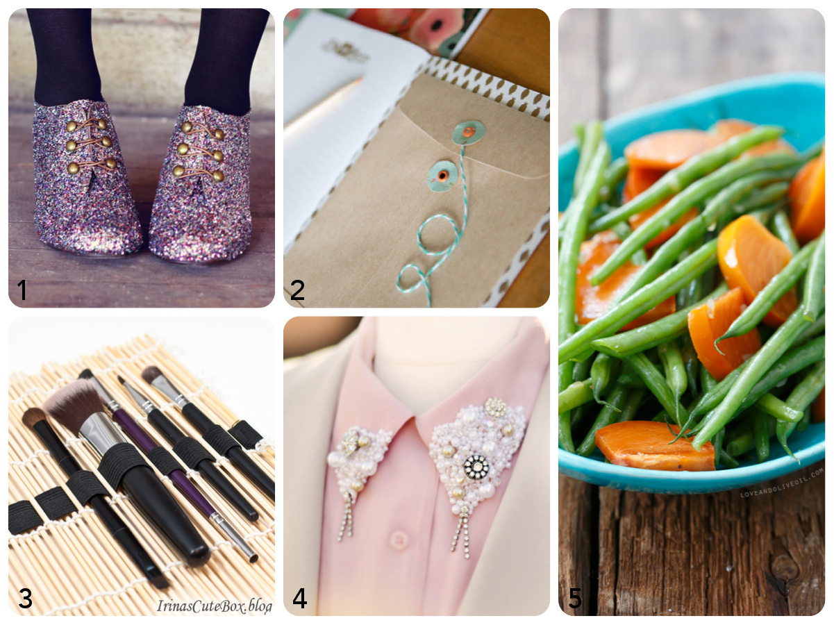 Link Love – Glitter, Persimmons and Pearls #pearls #fashion #tutorial #stationery #shoes