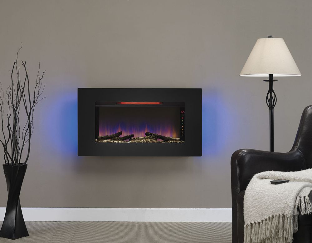 Super Classicflame 36 In Elysium Infrared Wall Hanging Electric Download Free Architecture Designs Scobabritishbridgeorg