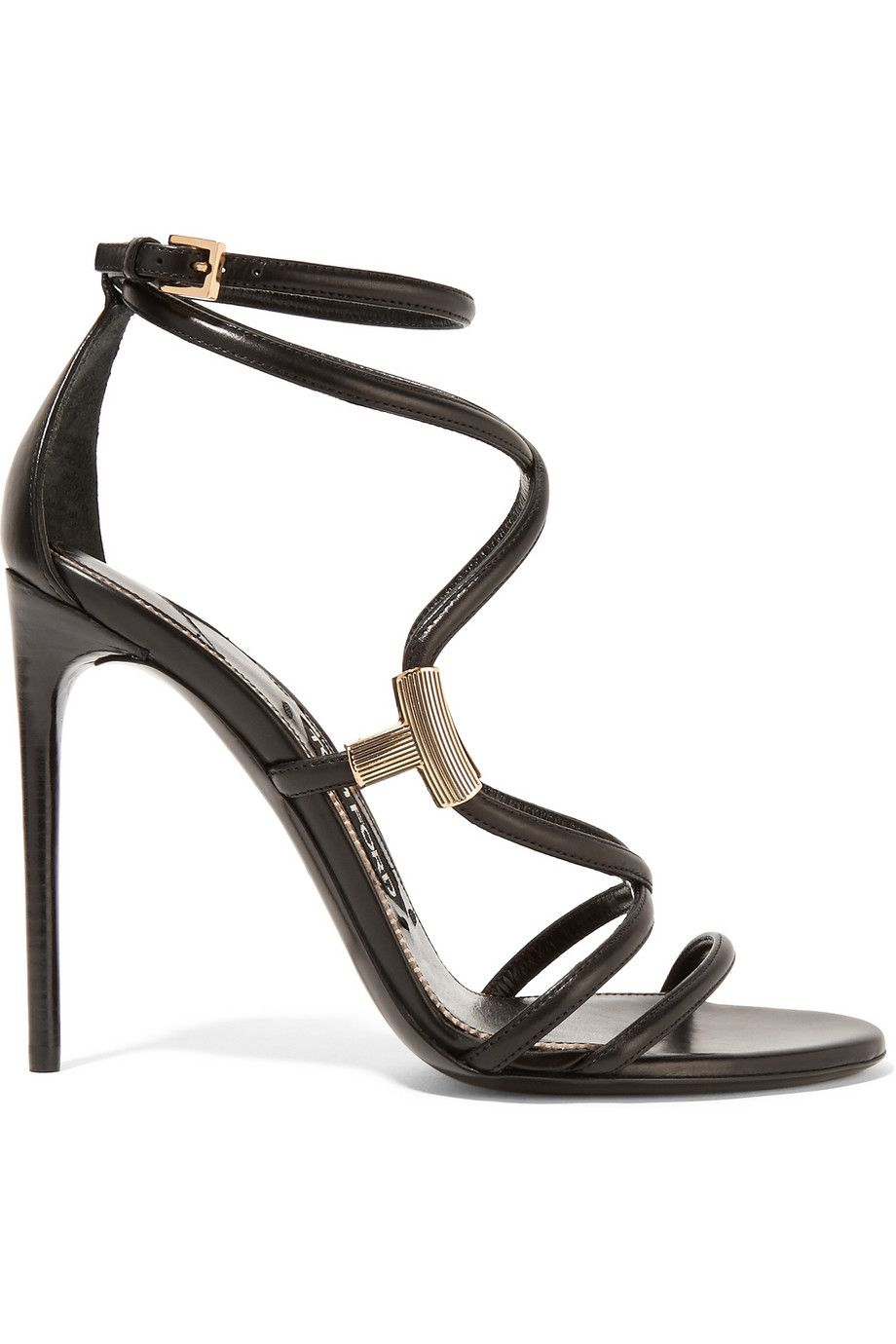 Purchase Your Favorite Embellished leather sandals Tom Ford Cheap Sale Footaction LduF0i