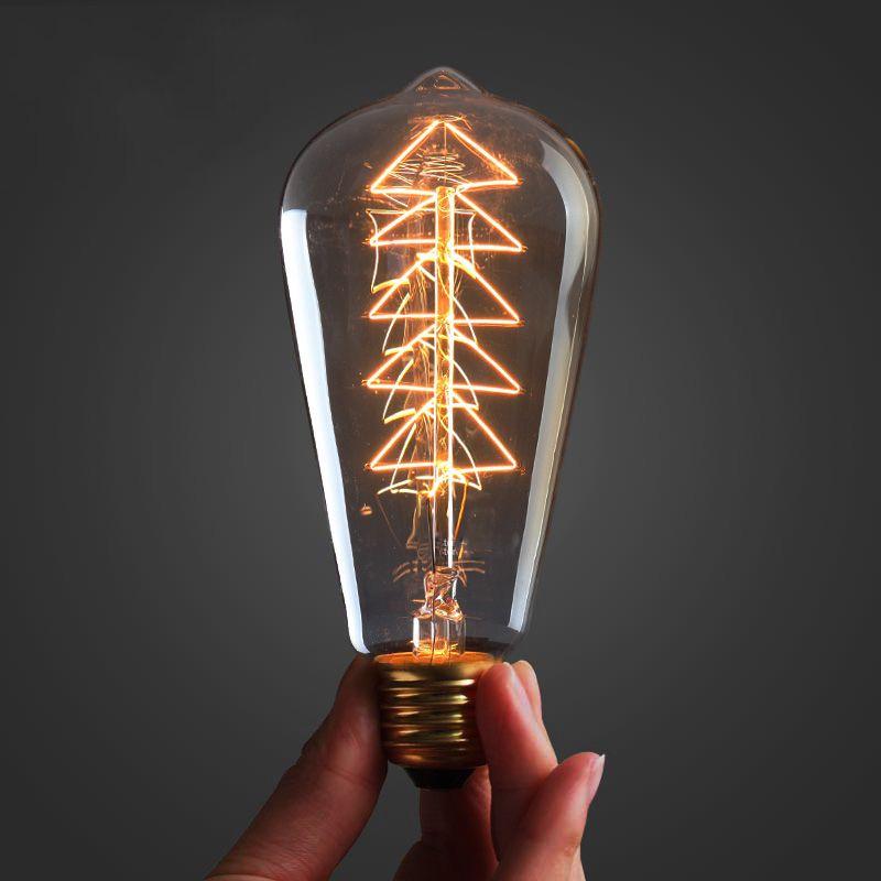 Hot Sale Vintage Edison Bulb Light Lamp AC 220V E27 Vintage