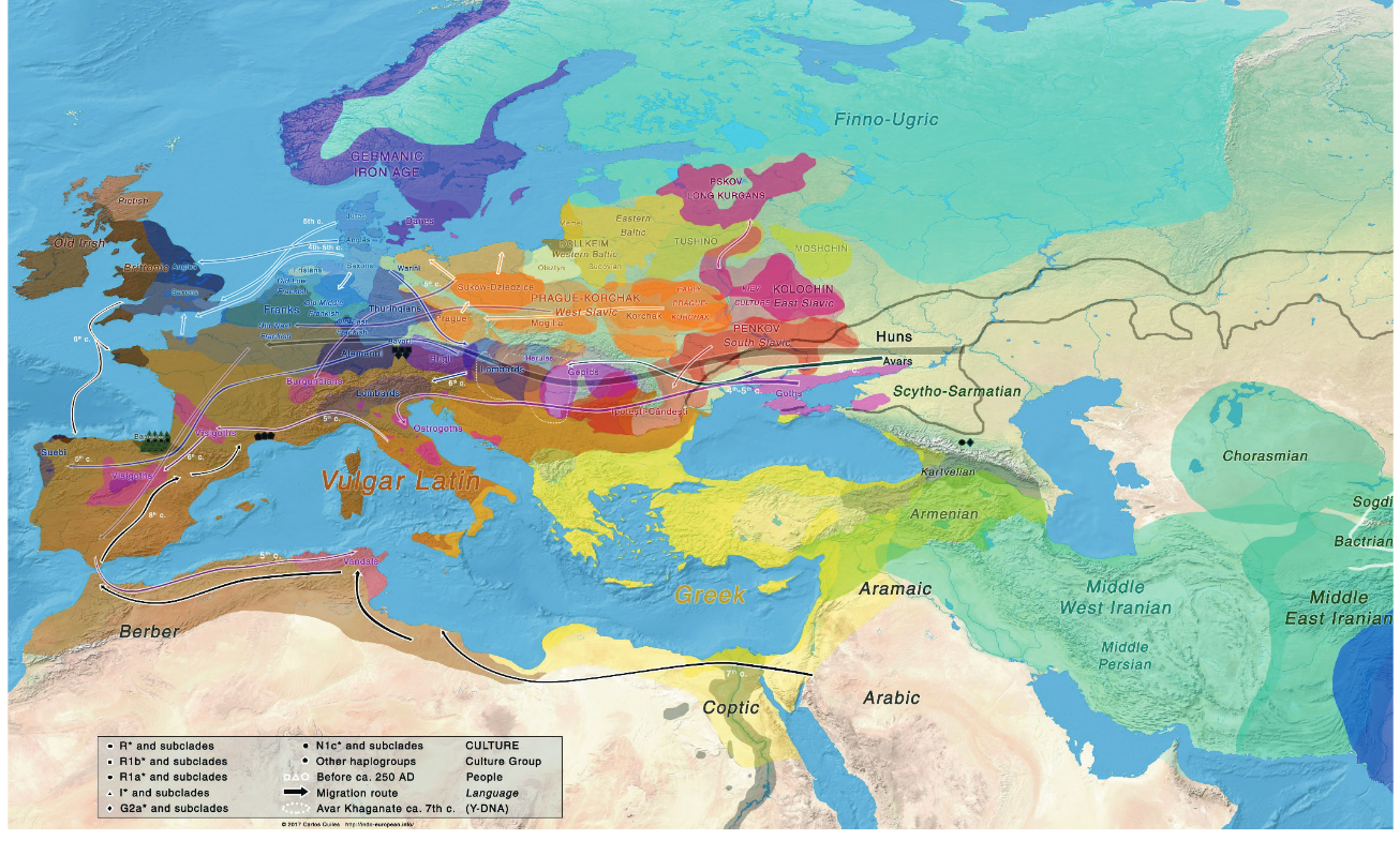 250 750 ad httpsindo europeanfoindo european demic great maps from indo european demic diffusion model gumiabroncs Images