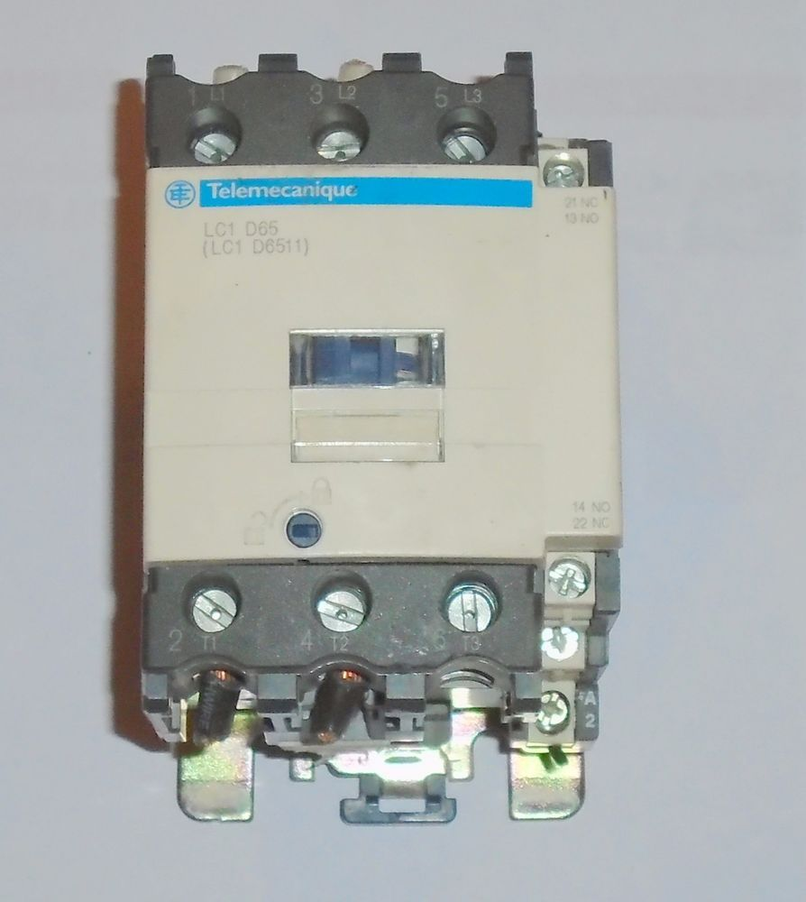 WRG-1299] Telemecanique Contactor Lc1 Wiring