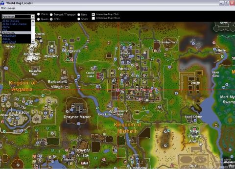 If you can choose a place to live in RuneScape, where it ...