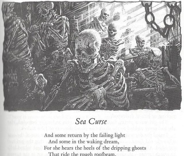 Greg Staples illustrator - Sea Curse by Robert E. Howard - poem by Kipling | da Cadwalader Ringgold