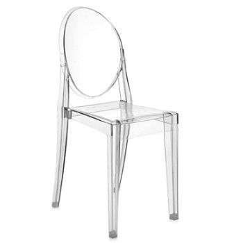Photo of Victoria Ghost Chair Set of two