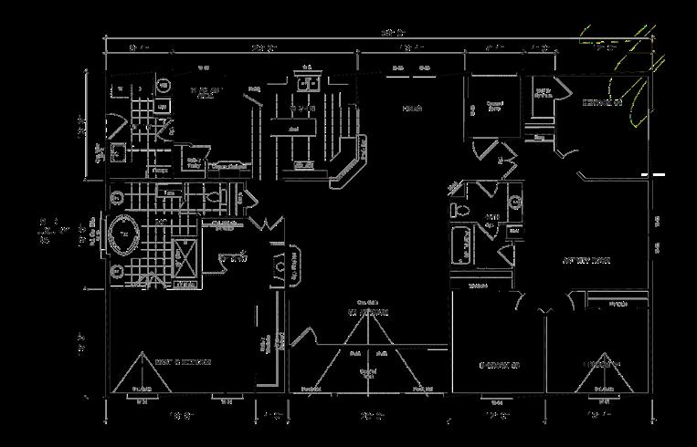 Manufactured Mobile Home GS681K 72GSA42684AH Floor