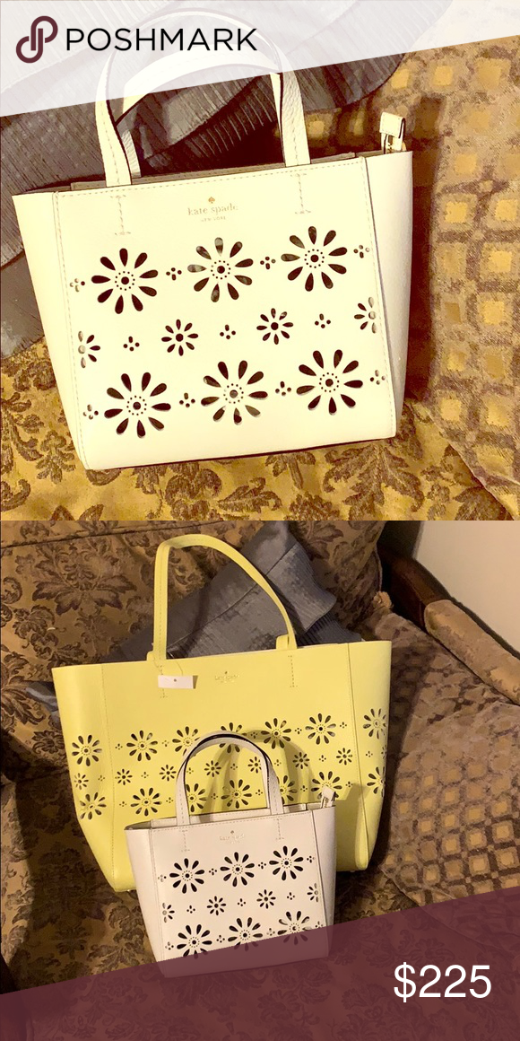 54253623d65d white Kate Spade Haillie Crossbody Bag This is absolutely adorable with the  daisy cutouts. I