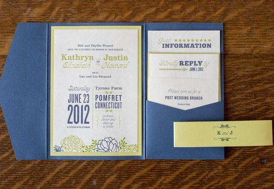 Explore Wedding Invitation Packageore The Pocket Folder