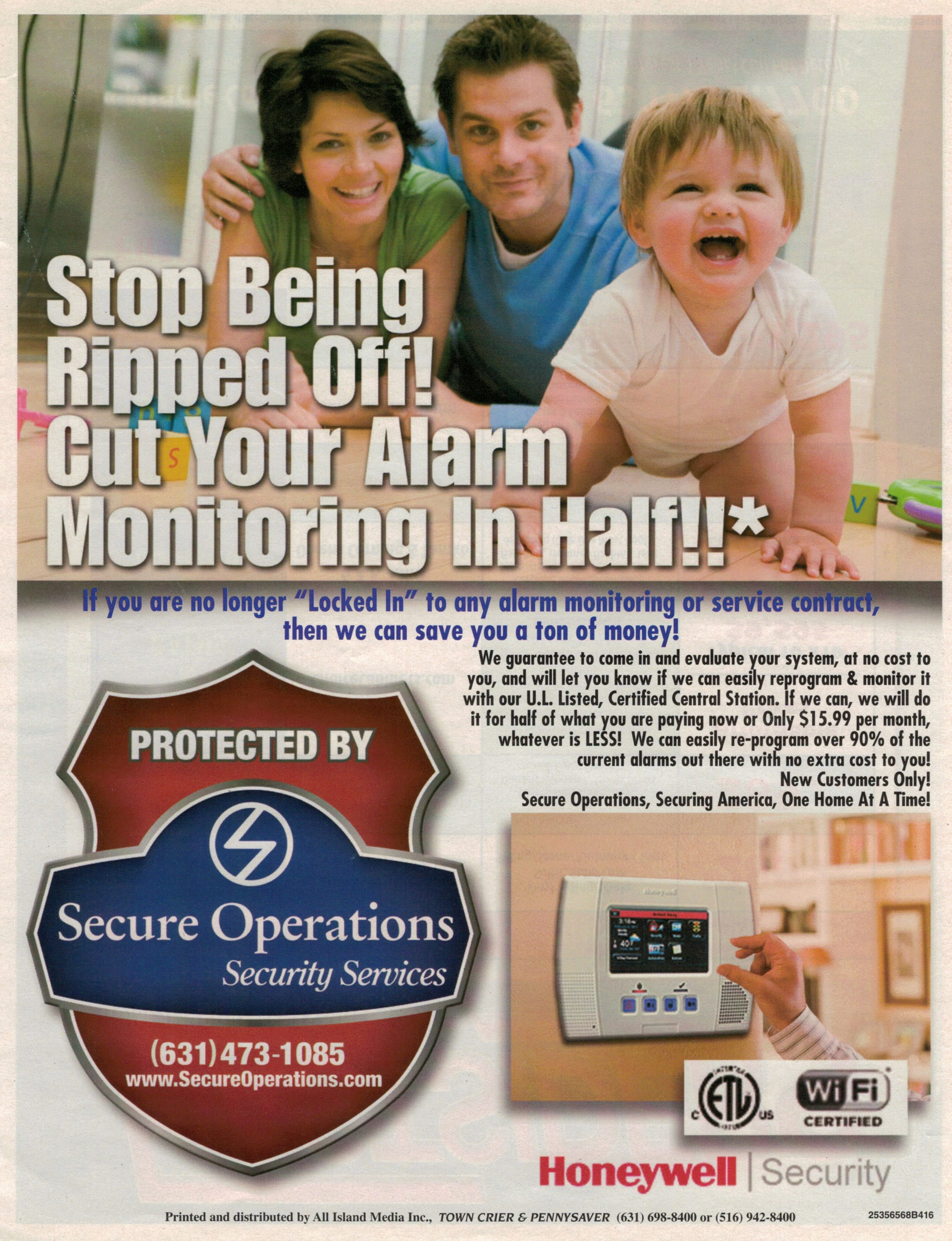 Alarms Security Long Island New York Cctv Secure Operations Securing America One Home At A Time Burglar Fire 631 473 1085