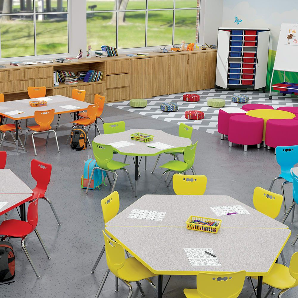 Home Daycare Design Ideas: Activity Tables In 2020 (With Images)