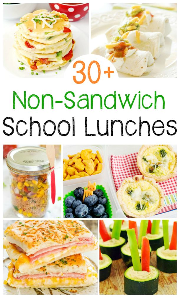 30+ Non Sandwich Lunch Ideas for Kids and Adults images