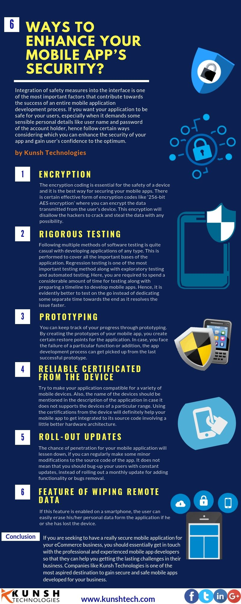 How to enhance your Mobile App's Security | Mobile App