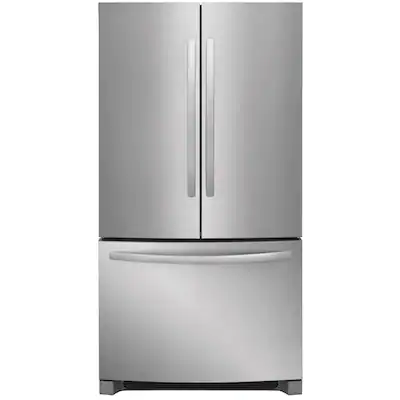 Frigidaire 22 4 Cu Ft Counter Depth French Door Refrigerator With