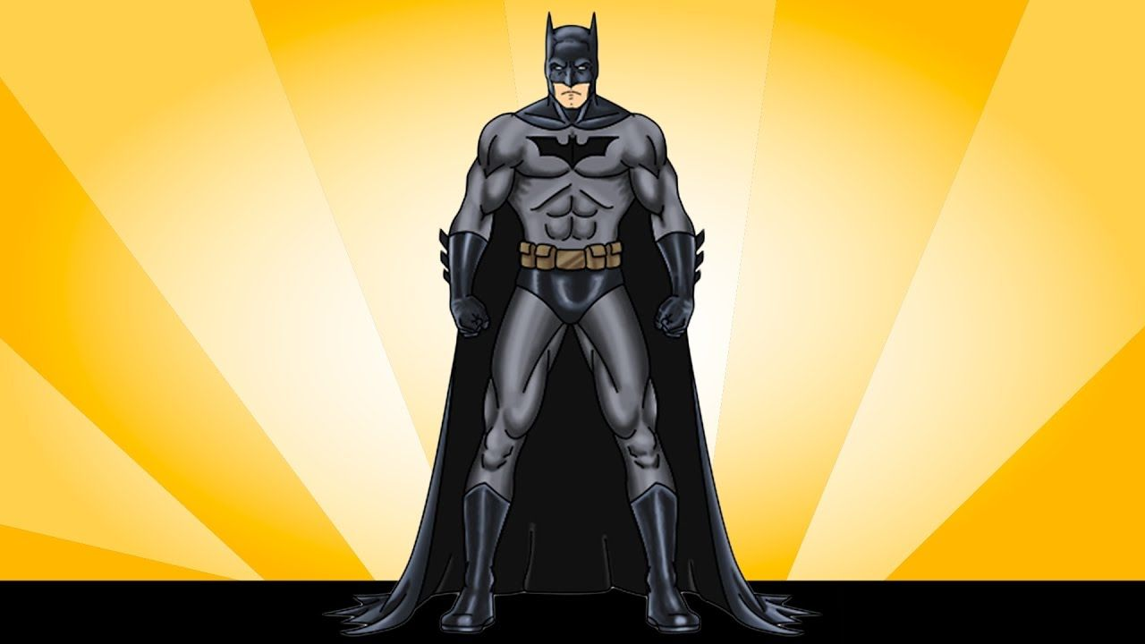 تعليم الرسم للأطفال رسم باتمان How To Draw For Kids Draw Batman Su Superhero Batman Drawing For Kids Batman
