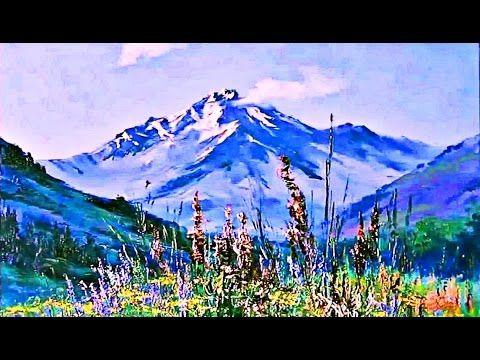 Aprende A Pintar Paisaje De Montana Facil Pintar Montanas Con Espatula Pintura Al Oleo Y Acrilicos Youtube Paisaje De Montana Paisajes Pinturas