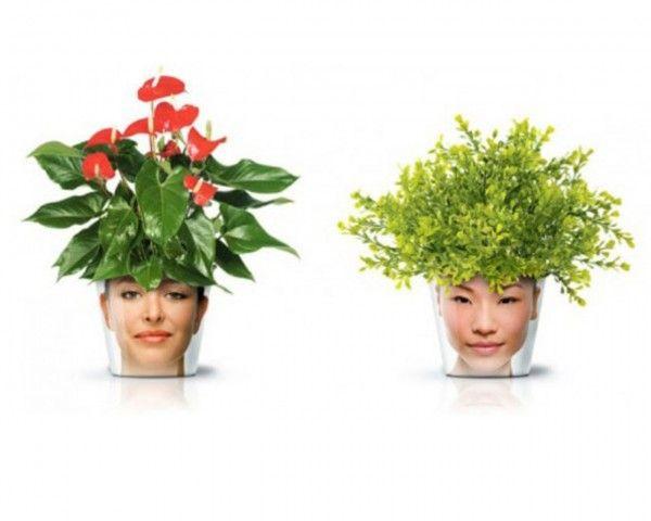 Unusual flower pot ideas