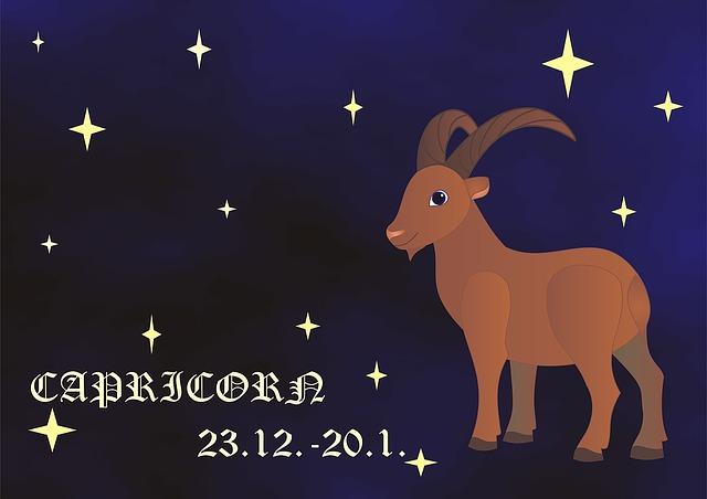 Wochen Horoskop - Sternzeichen Steinbock ♑ - 22.12. - 20