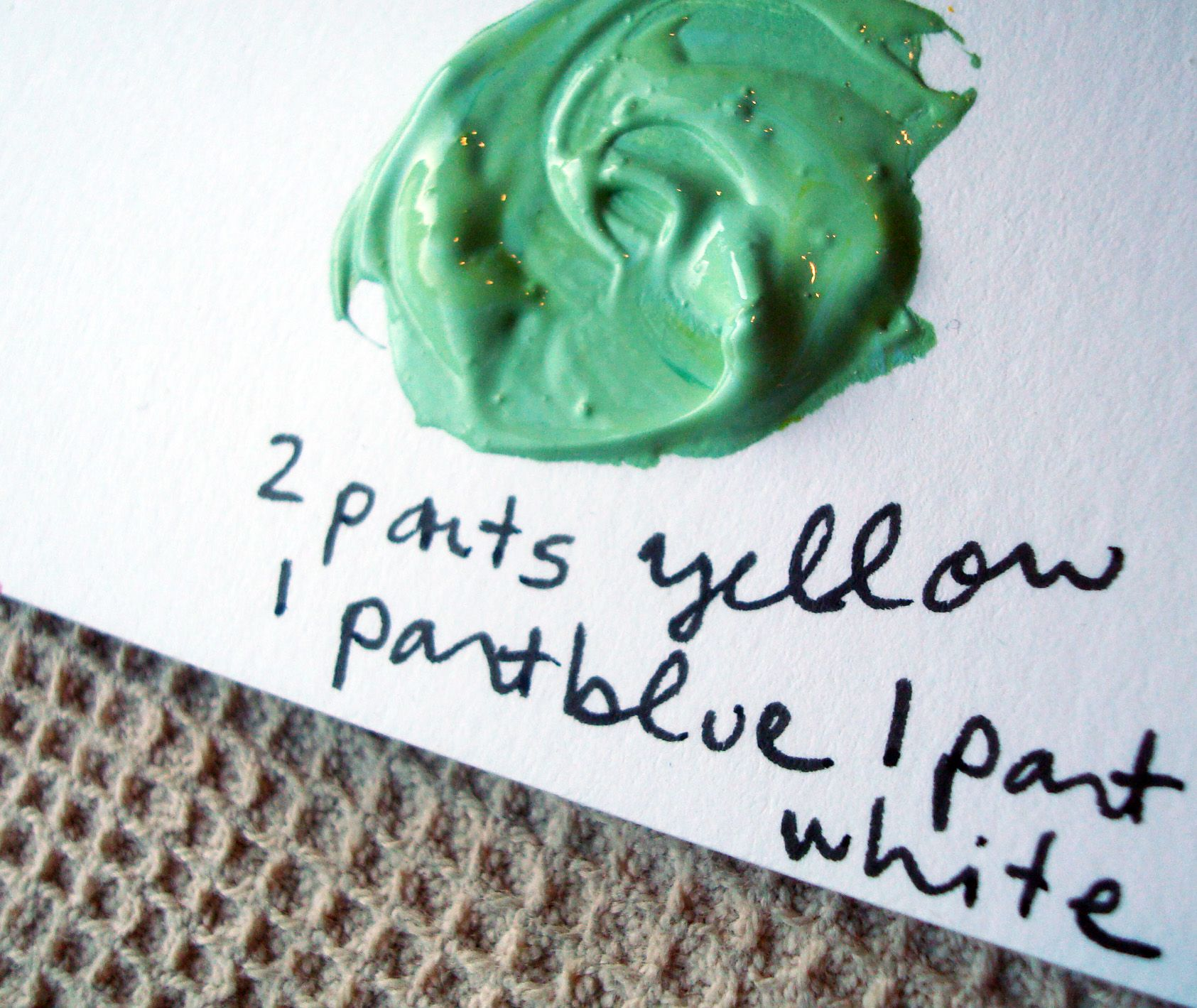 It S Easy Being Green How To Mix Green Paint Fairy