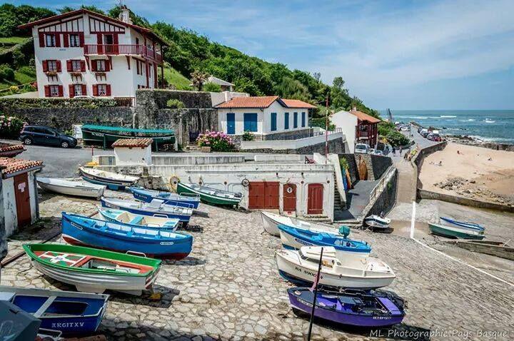 Guethary Pays Basque France Paysage Basque Pays Basque Les Landes France