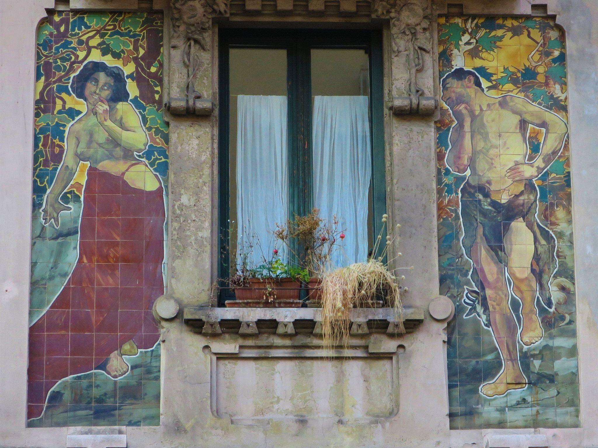 Casa Galimberti (1905) - Via Malpighi, 3, Milano   Architecte Giovanni Battista Bossi