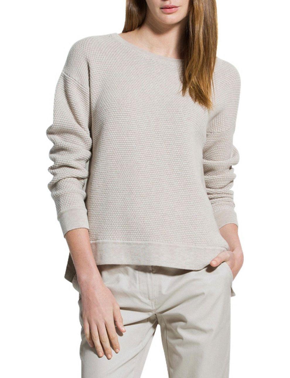 Textured Splice Knit | David Jones | Fashion online shop ...