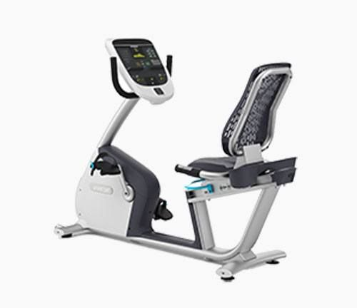 Precor rbk recumbent exercise bike review by garage gym home