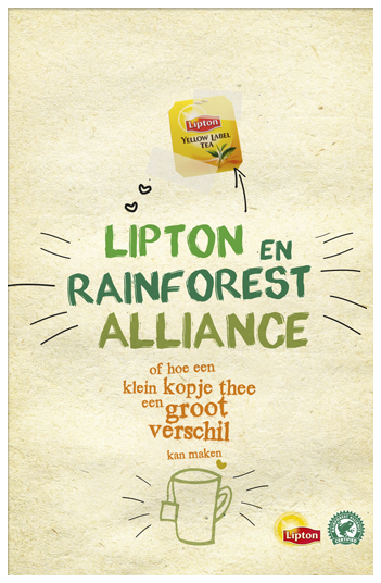 Lipton & Rainforest Alliance ad