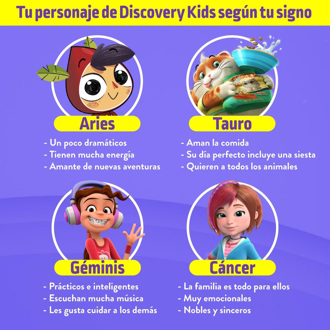 Tu Personaje De Discovery Kids Según Tu Signo Descoberta Infantil