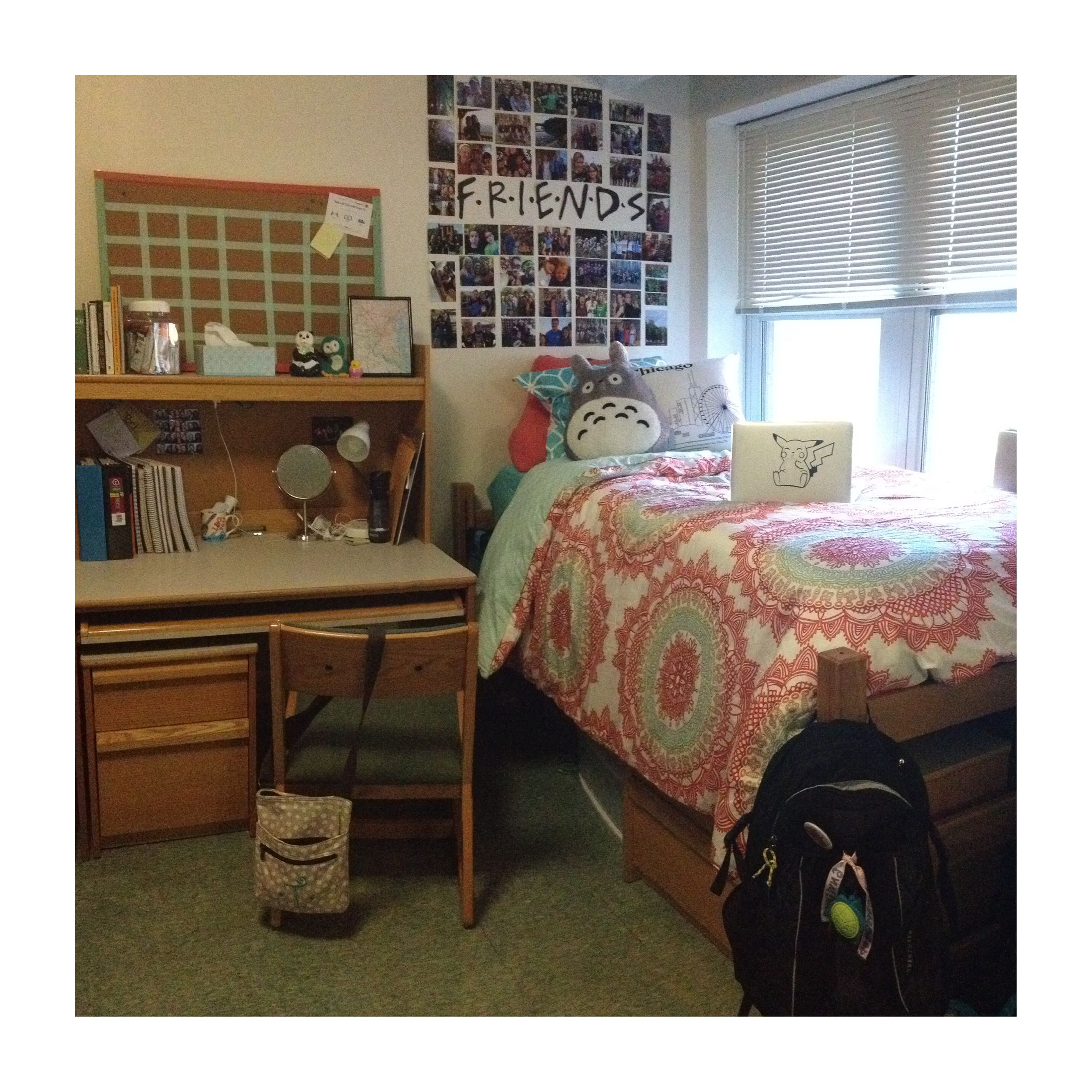 My Dorm Room At Binghamton University One Of Favorite Parts Is A Vintage Map