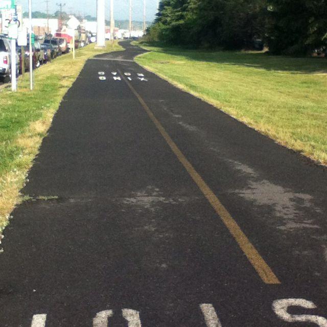 small piece of my runnin path...