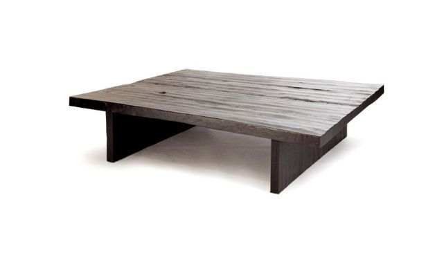 contemporary wooden coffee table JAPANESE Tucker Robbins Coffee