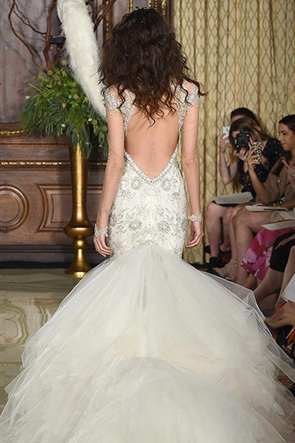 Cool vintage backless wedding dress trends ideas more at