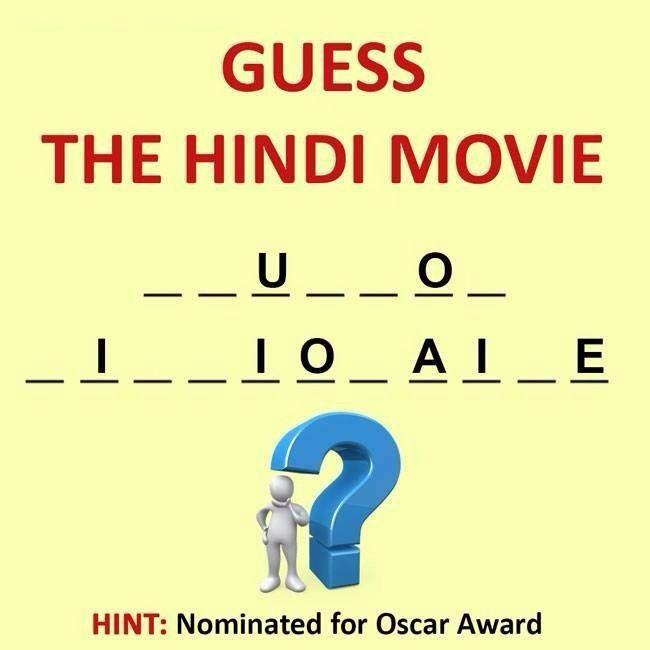 Guess Hindi Movies Whatsapp Puzzle    Bollywod Puzzle
