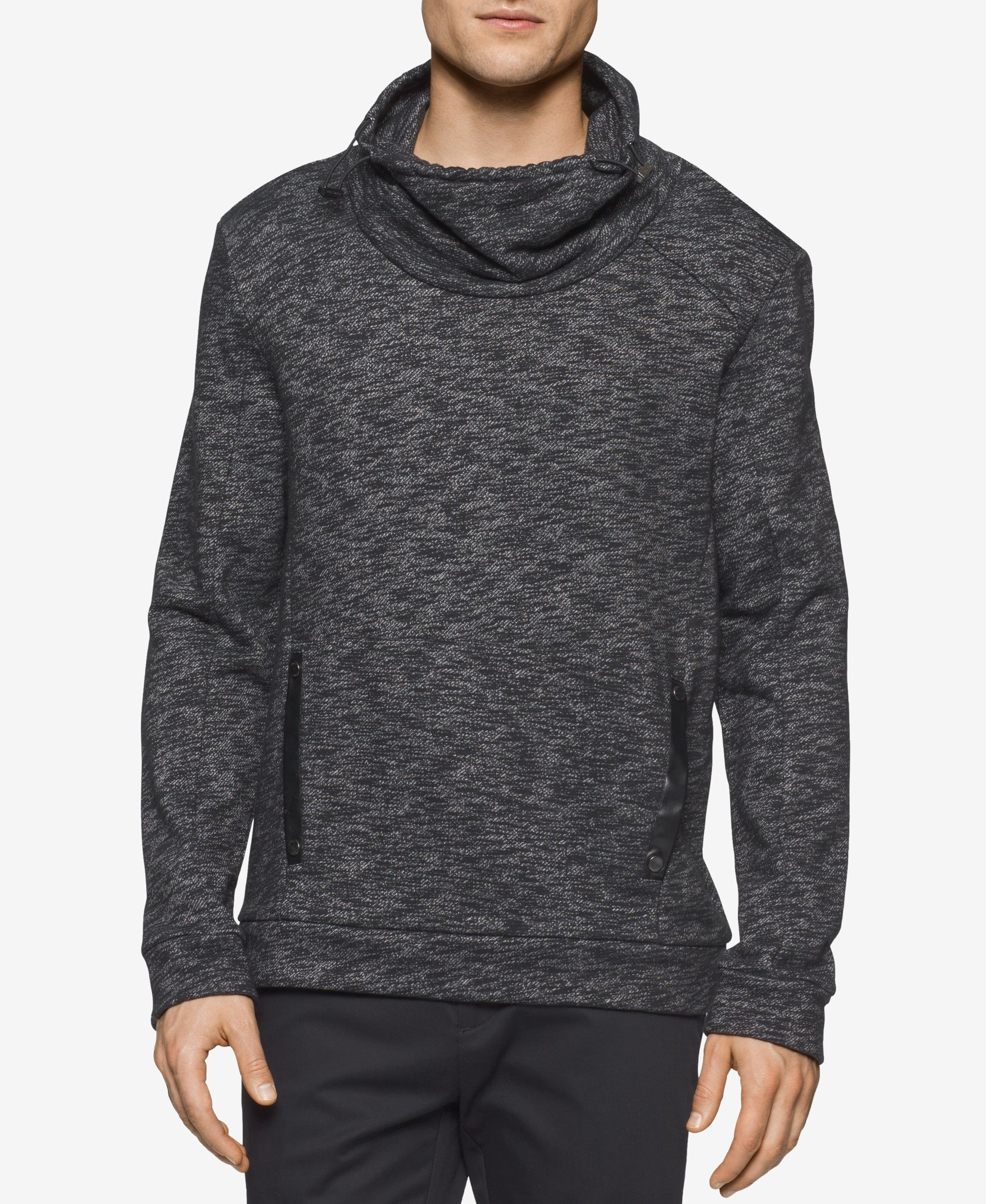 Calvin Klein Men's Funnel Neck Shirt