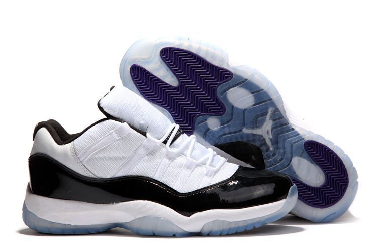 1ebf4fb32ec Onlyjoe ews 30 09 2015 JORDAN 11 LOW CONCORDS WHITE BLACK DARK CONCORD Free  Shipping!