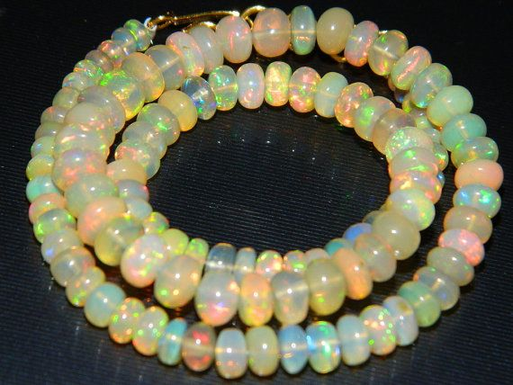 AAA. Quality Natural Ethiopian Welo Fire Opal Smooth Beads,Fire Opal, Size of 3mm to 5mm Approx.Extreme Insane Fire