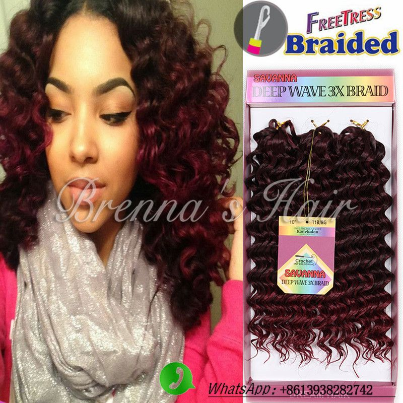 Image result for freetress water wave braid hair | Crochet ...