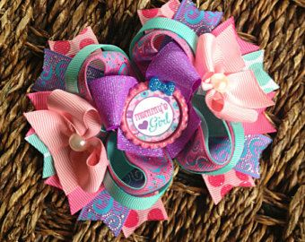 Mommy's Girl boutique bow