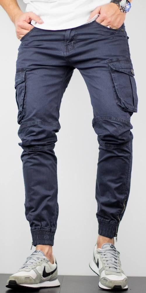 in vendita df6d3 310b5 Pantaloni COMBAT - Bleumarin   Blugi Barbati   Pants ...